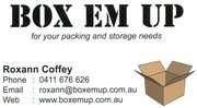 Removal Boxes and Packing items for your Moving and Storage Needs.