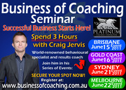 Series of Events: The Business of Coaching Seminar