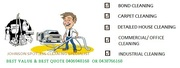 Best price quality bond,  domestic,  commercial/office cleaning service