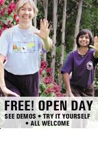 Free Taoist Tai Chi Open House