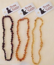 Pure Baltic Amber Teething Necklaces