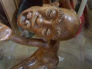 Art Gallery of MrM Wayan Wetja's(Bali)Smile statue