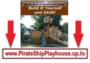 Pirate Ship Playhouse Plans DIY Guide
