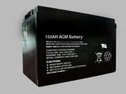 Standard 150AH AGM Battery Great Solar Battery