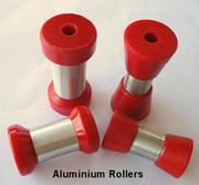 Boat Trailer Rollers - Reliable Self Centering Rollers Material