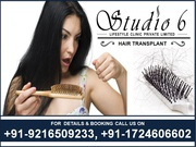 Hair Transplant at Reasonable Price in India in Studio 6