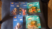 FIVE SYDNEY PARALYMPIC 2000 GAMES MASCOT FIGURINES LICENCED NEW FREE POST AUSTRALIA