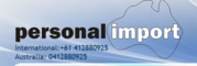 Personal Import Pty Ltd
