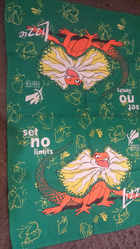 Sydney 2000 paralympic games official tea towel all cotton never used