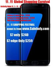 Samsung Galaxy S7 32GB Black Color Unlocked Smartphone--240 USD