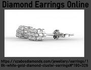 A Wonderfull Pair Of Diamond Earring Online