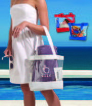 Promotional Vision Beach Tote Bag at Vivid Promotions Australia