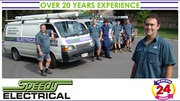 Speedy Electricians for all domestic jobs,  no job too big or small. Ov
