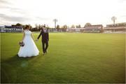 Stunning Wedding Reception at the Cricket Stadium