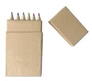 Buy 6 Pack Colored Pencils In Mini Pencil Box | Vivid Promotions Austr