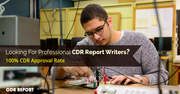 Avail 100% Plagiarism Free CDR Review Service by CDRReport