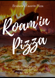 Enjoy the roam'in woodfired pizza