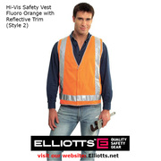 Hi Vis Safety Vests - Work Safety PPE