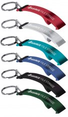 Personalised Sleek and lightweight Ale Bottle Opener | Custom Keyrings