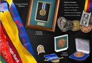 Name Badges,  Medals,  Awards,  Plates,  Trophies Online