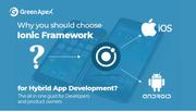 Why you should choose Ionic Framework for Hybrid App Development?