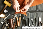 Stop searching for leather furniture repair,