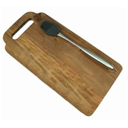 Great Outdoors Marinating Brush And Board Set | Custom Chopping Boards
