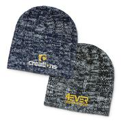 Imprinted Fresno Heather Knit Beanie | Vivid Promotions