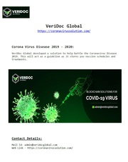 VeriDoc Global is showing a new path to the health organizations