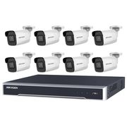 Shop Online 8 Hikvision 8MP IR Fixed Bullet with 8Ch NVR
