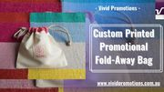Custom Printed Shopping Foldway Bags - Best Promotional Giveaway