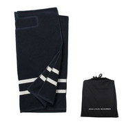 Imprinted Beach Towel Catamaran Blue | Promotional Beach Towels
