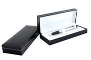 Black Imitation Leather Gift Box by Vivid Promotions | Promotions
