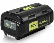 40V 6.0AH Ryobi OP4040 Cordless Drill Battery