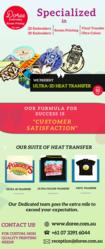 Custom 3D Heat Seal Transfer | Doree